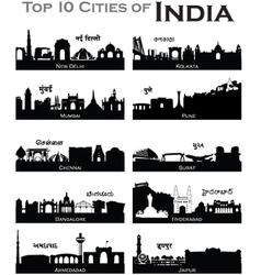 Indiancities vector
