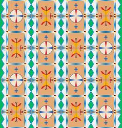 lakota pattern two vector image vector image