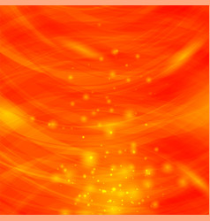 Orange burst blurred background sparkling texture vector