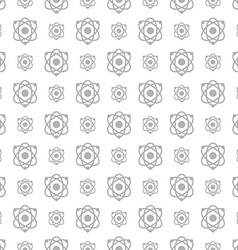 Seamless pattern science and technology background vector