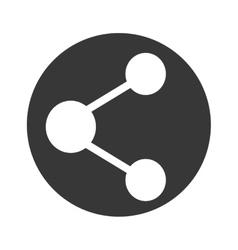 Share symbol icon vector