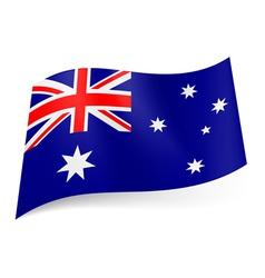 State flag of Australia vector image
