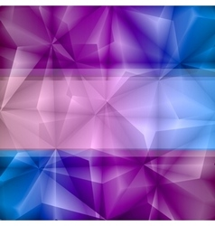 Violet-blue abstract background vector image vector image