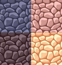 Stone pattern vector