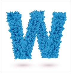 W letter vector