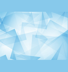 Blue abstract pattern of geometric shapes texture vector