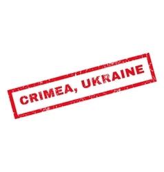 Crimea ukraine rubber stamp vector
