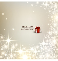 Elegant Christmas background with place for text vector image