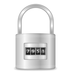 Lock vector image