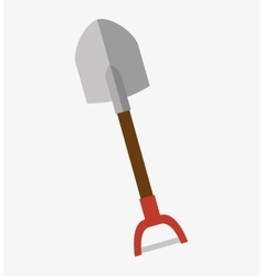 shovel construction tool icon vector image