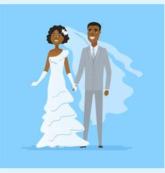 Wedding - cartoon people characters isolated vector