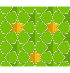 Abstract star seamless pattern background vector
