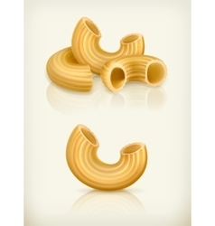 Pasta icons vector image