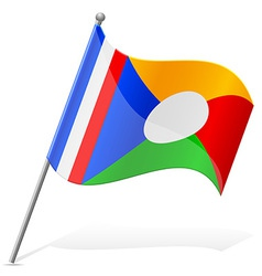 flag of Reunion vector image