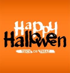HappyHalloween vector image vector image