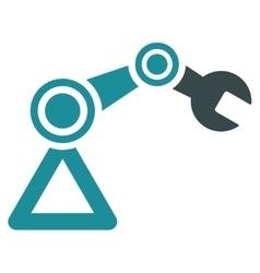 Robotics icon vector