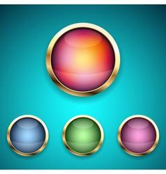 modern icon vector image
