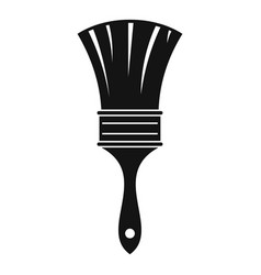 brush icon simple style vector image vector image