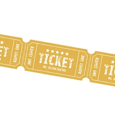 Single tickets vector