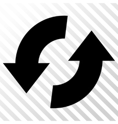 Exchange arrows icon vector