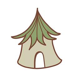 A tent vector image