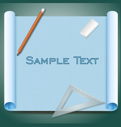 Architect paper vector