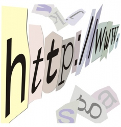 Internet address vector