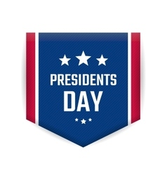 Presidents day banner vector