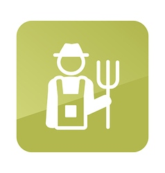 Farmers icon garden vector