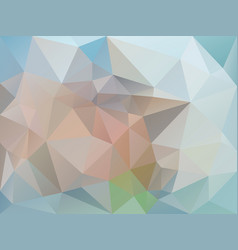 abstract pastel bleu polygon background vector image vector image
