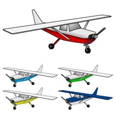Air plane vector image vector image