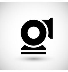 Centrifugal fan icon vector