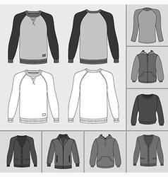 Street fashion clothing 18 vector