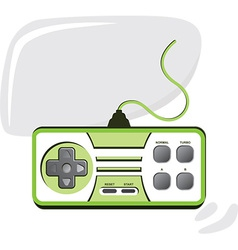 Gaming design element vector