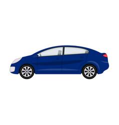 Car single icon in cartoon style for designcar vector