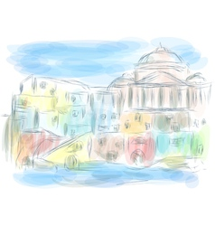 naples italy vector image