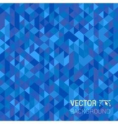 Abstract modern geometric blue background vector image vector image