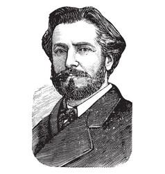 Frederic auguste bartholdi vintage vector