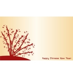 Happy chinese new year of backgrounds vector