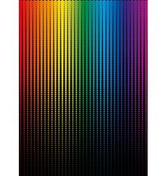 Rainbow halftone vector