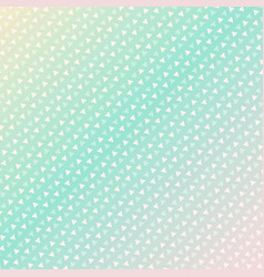 Seamless triangle pattern background green vector