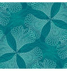 Decorative filigree pattern vector