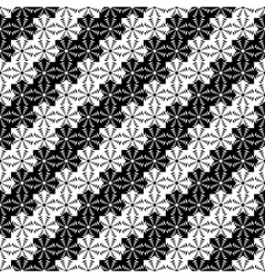 Design seamless monochrome lacy decorative pattern vector image vector image