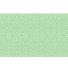 seamless shamrock pattern vector image vector image