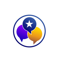 Social rating vector