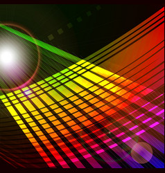 abstract 3d technology space backgound vector image