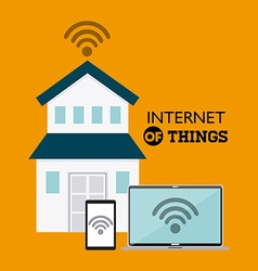 Internet things vector