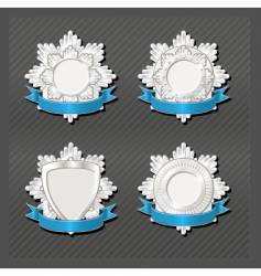 emblems series honour vector image