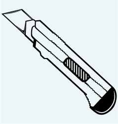 Office knife vector image