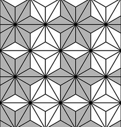 Pattern Hexagon vector image vector image